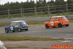 EM för historiska racerbilar i Anderstorp  Oldtimer Festival  Regn och rusk och lite bilar...