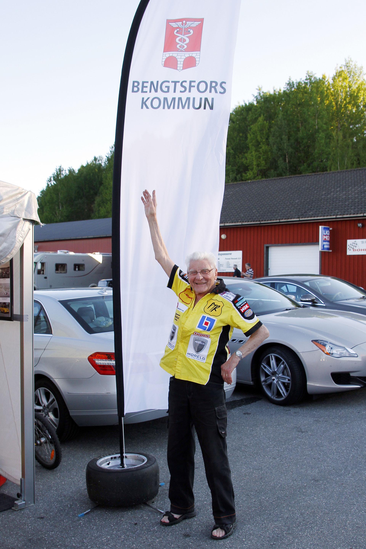 Erik Berger var alltid noga med att framföra att han kom från Bengtsfors.