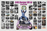 Erik fick detta fotokollage av B-Å Gustavsson på sin 80-årsdag.