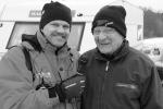 Jag intervjuvar Erik under sextimmarstävlingen på Dalsland Ring 2011.