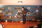 Så här såg det ut i Eriks priskällare hemma i gamla boningshuset.