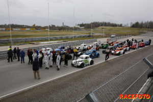 Testdag för Legends i Karlskoga