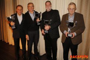 """Gammelbilar"": Per Hågeman, Magnus Neergaard, Janne Hansson & Frank Högman."