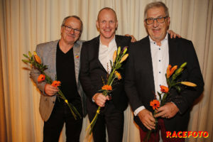 RHK´s Riksmästare Standard: Reinhold Daubner, Hans Beckert & Karl-Gustaf Rundberg.