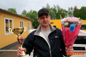 Joakim Broström vann sitt premiärrace i F3.
