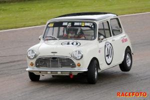 Per Skårner hade en bra helg där han vann tre race i två olika klasser.