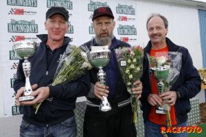 Snabb trio i Formula Slicks. Fr v: Johan Eliasson, Torgny Johansson & Hermod Lunde.