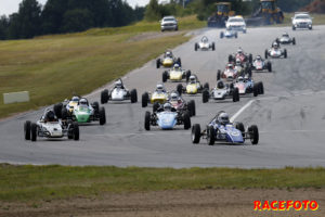 Starten för Formel Vee.