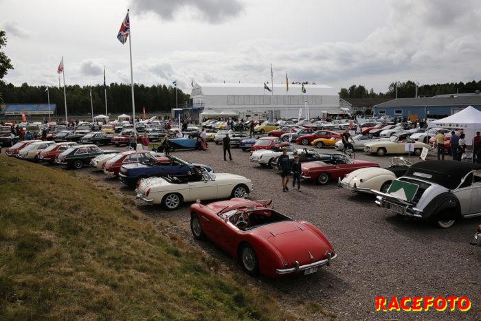 Även i år kommer vi att få se många fina bilar på sportvagnsutställningen på Mantorp Park.