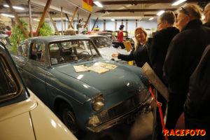 Lena Ljungdahl hittade snabbt sin favoritbil.